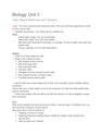 Cover page of VCE Biol Unit 3, 44 study score notes!