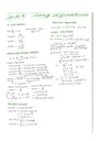 Cover page of Extension 1 Math Summary Notes