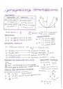 Cover page of Advanced Math Summary Notes