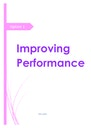 Cover page of PDHPE NOTES - Improving Performance