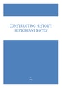 Cover page of History Extension: Constructing History Notes (Band 6/E4)