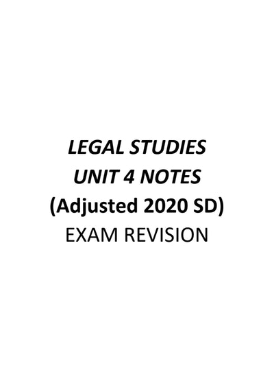 Front page of the notes