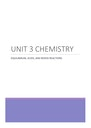 Cover page of QCAA Chemistry Unit 3 Compiled Notes 2021